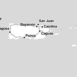 INTERACTIVE MAP Puerto Rico One Month After Hurricane Irma WLRN